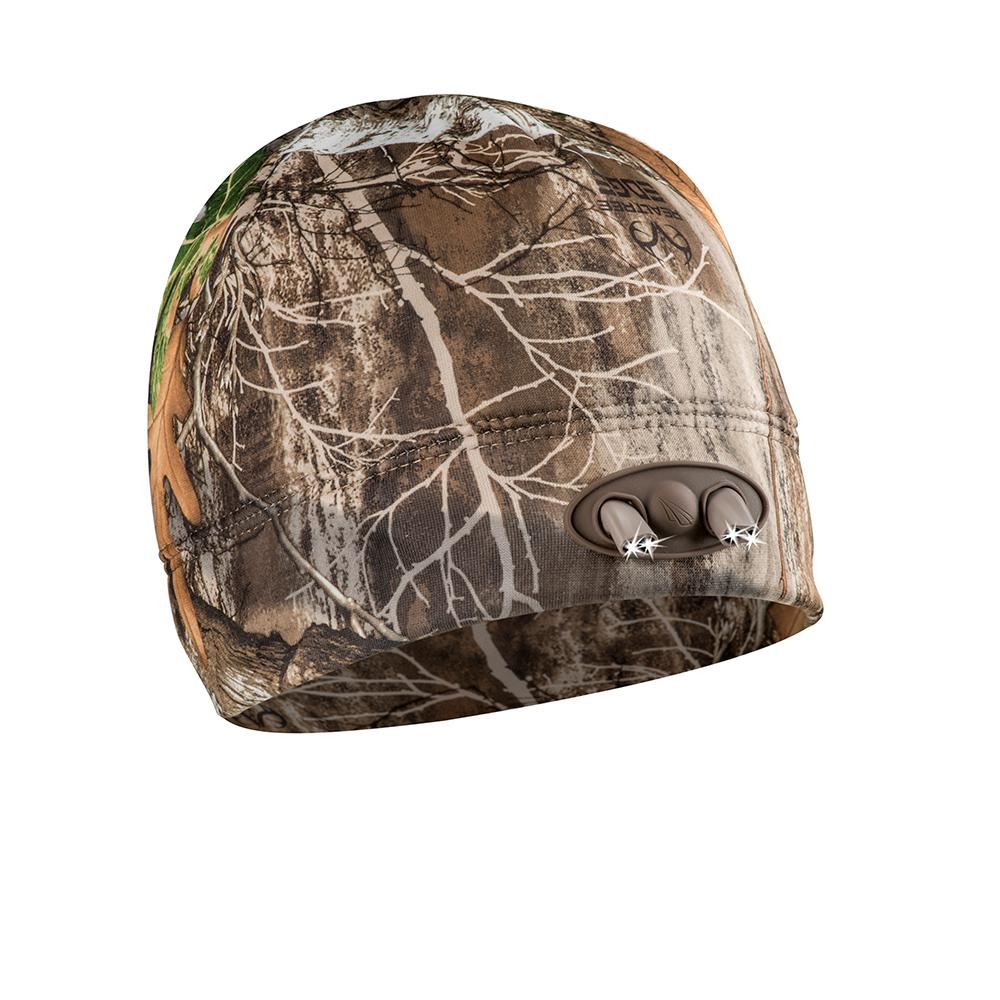 Camouflage Panther Vision POWERCAP Beanie Hat with Hands-free LED Lighting