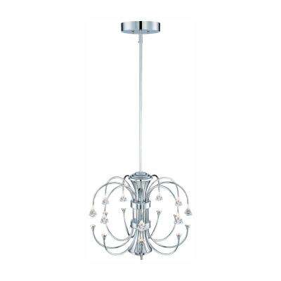 Galaxy Chrome Interior Integrated LED Chandelier