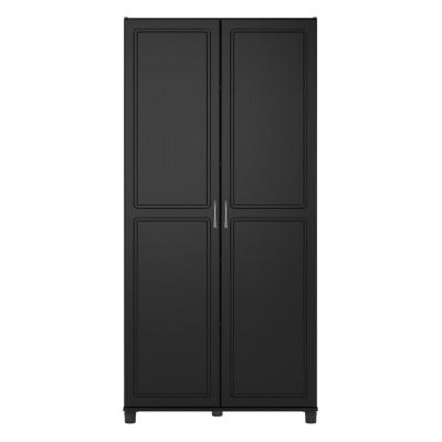 Trailwinds 36 in. Obsidian Black Utility Storage Cabinet