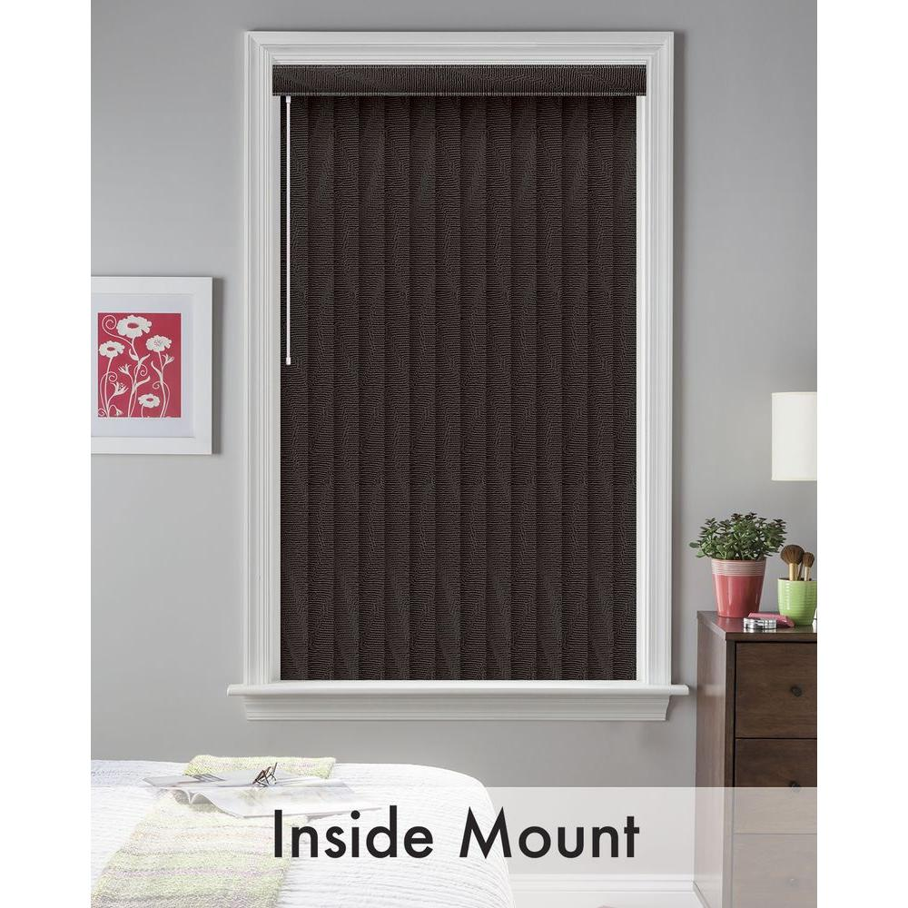 Bali Cut-to-Size Maui Black 3.5 in. PVC Louver Set - 75 in. L (9-Pack)