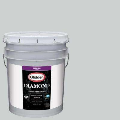 5 gal. #HDGCN36 Silvery Moonlight Eggshell Interior Paint with Primer