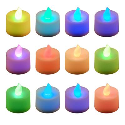 Color-Changing LED Tealights (Box of 12)