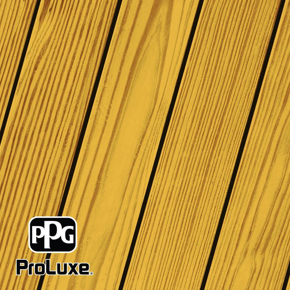PPG ProLuxe 1 gal. Natural SRD RE Exterior Transparent Matte Wood Finish
