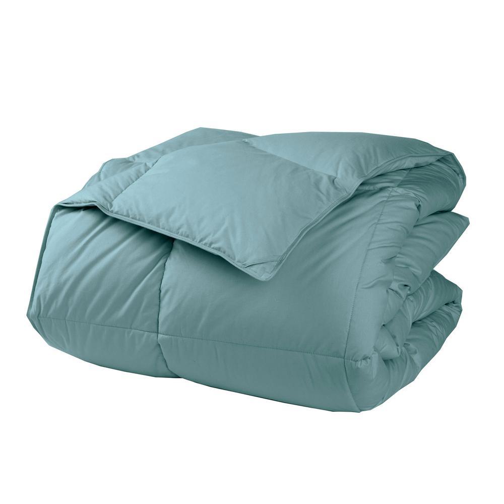 LaCrosse LoftAIRE Extra Warmth Sea Mist King Down Alternative Comforter
