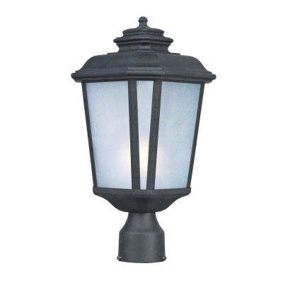 Radcliffe 9 in. Wide 1-Light Outdoor Black Oxide Post Light