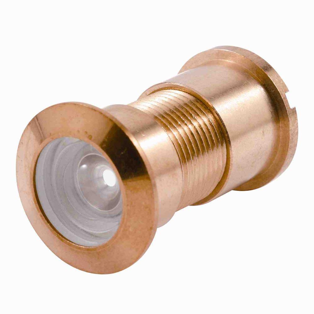 1 in. Bore 130-Degree Brass Door Viewer