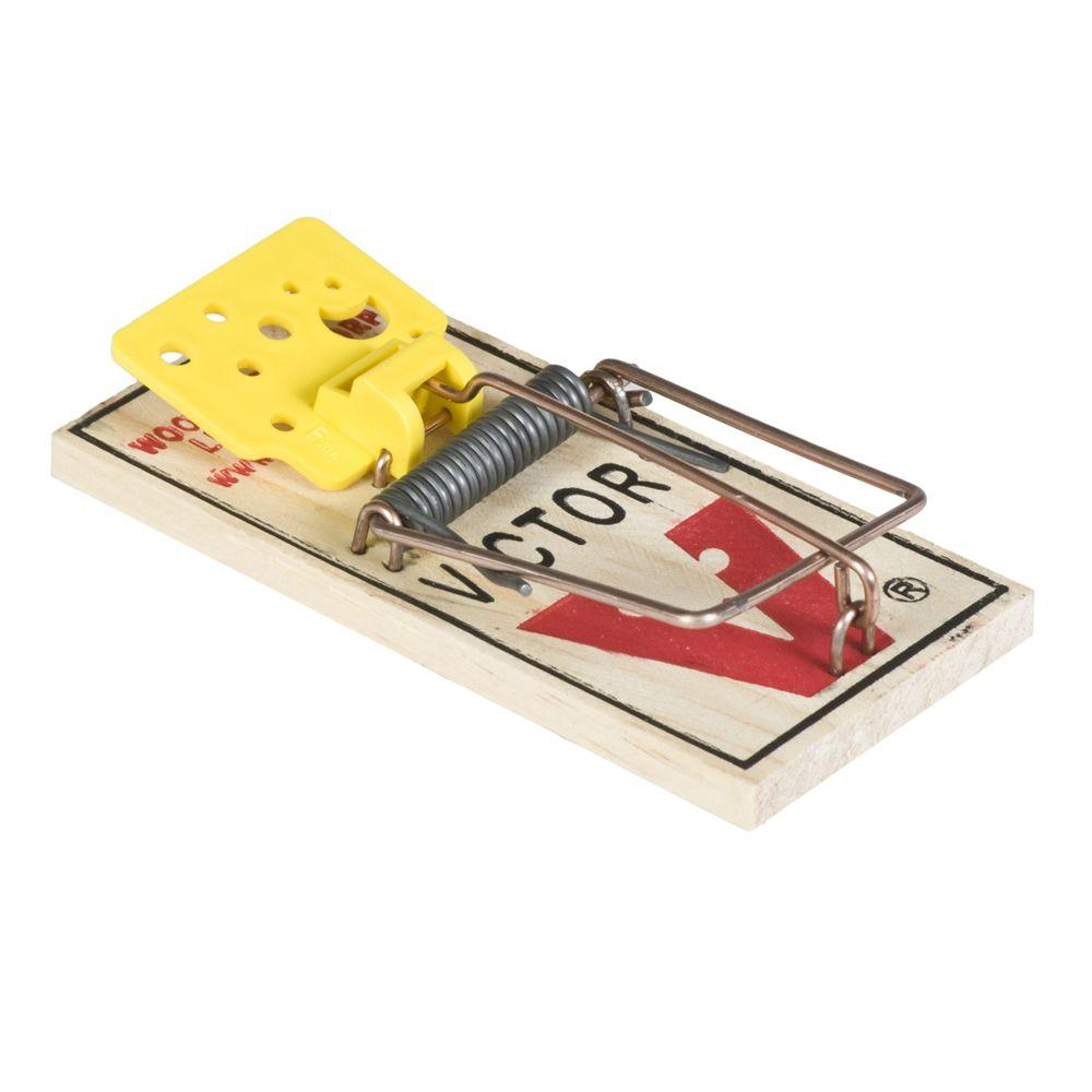 Victor Easy Set Mouse Trap 72 Pack M325 The Home Depot