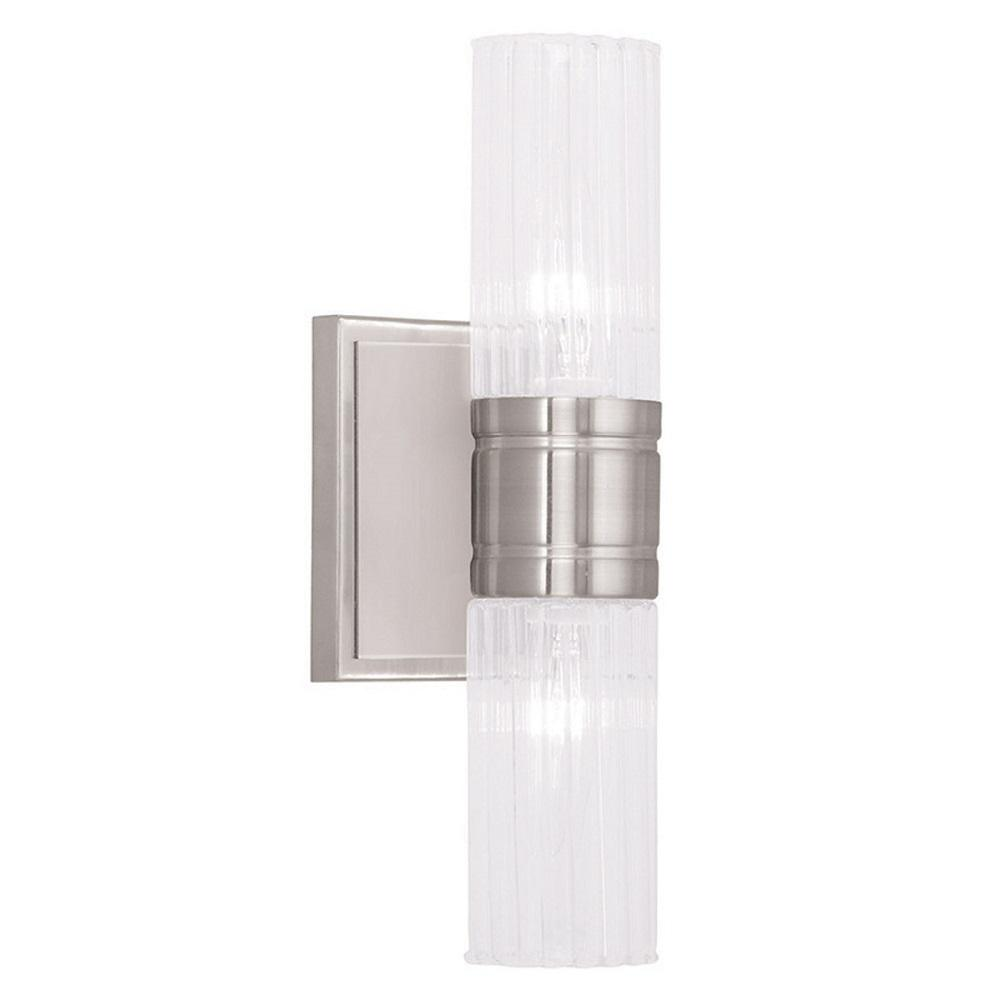 Livex Lighting Midtown 2 Light Brushed