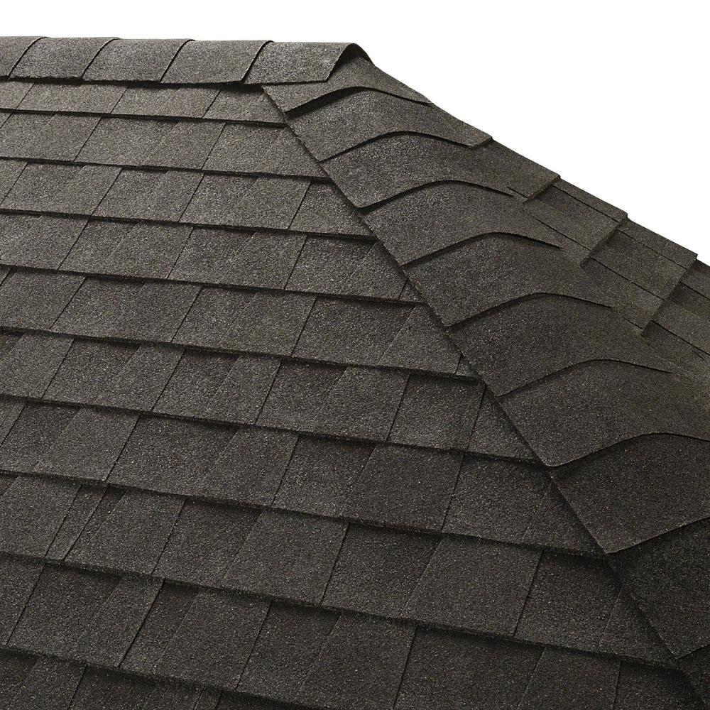 Seal-A-Ridge Charcoal Hip and Ridge Shingles (25 linear ft. per Bundle)