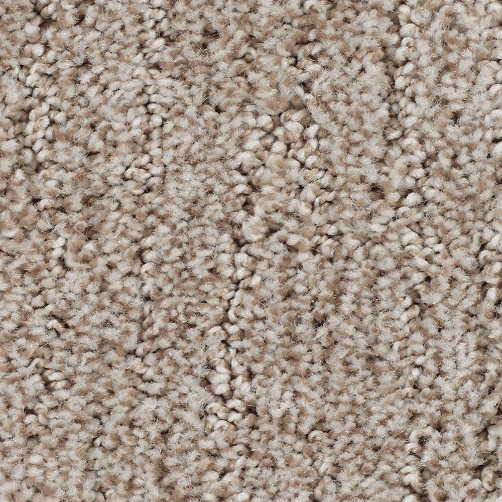 LifeProof Chester-Color Georgian Textured 12 ft. Carpet