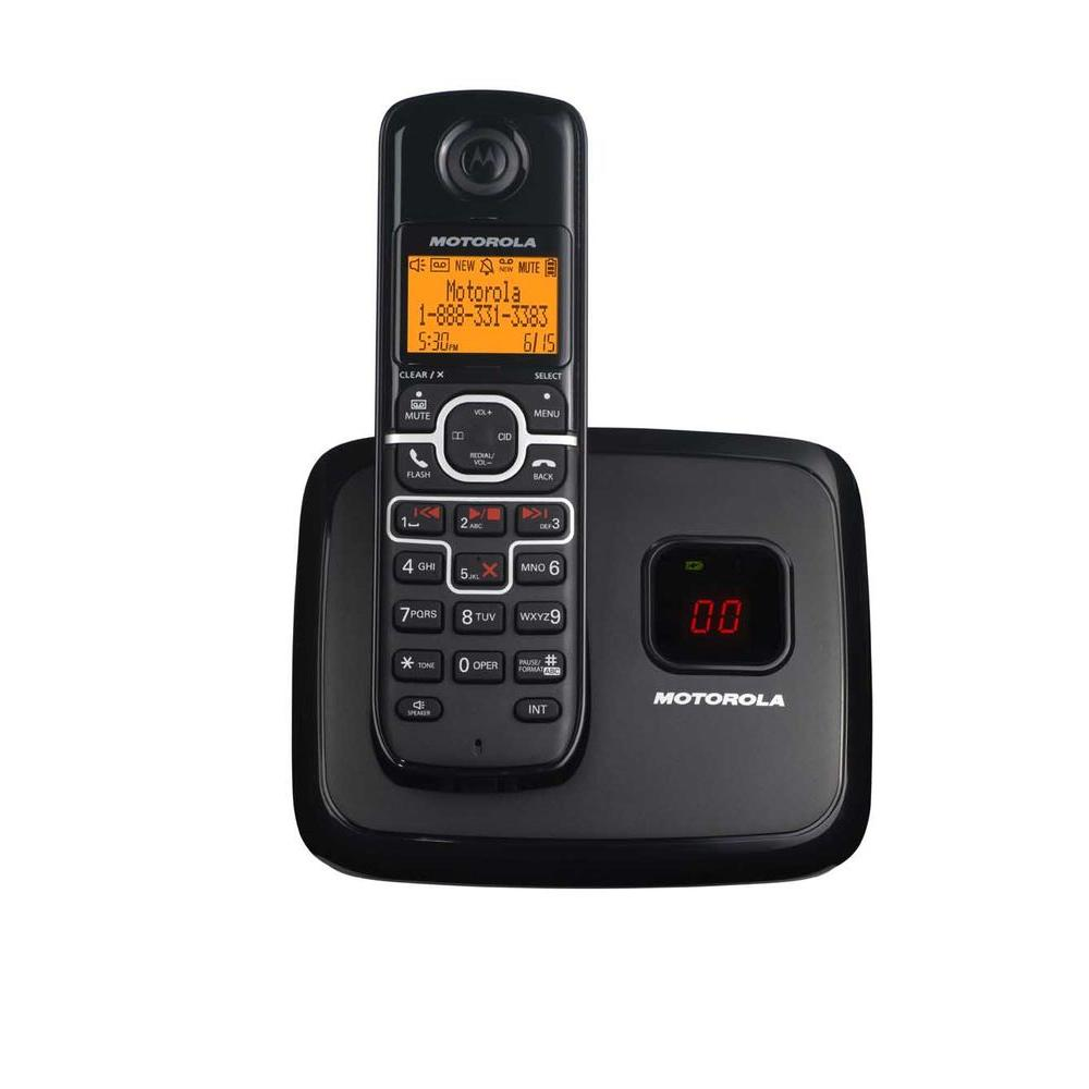 Motorola DECT 6.0 Cordless Phone with Answering System and 1-Handset