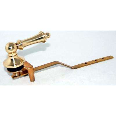 Toilet Tank Lever for Toto Toilets in Polished Brass