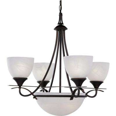 Durango 6-Light Italian Dusk Interior Chandelier