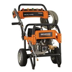 Generac 4,200 psi 4.0-GPM OHV Engine Triplex Pump Gas Powered Pressure Washer by Generac