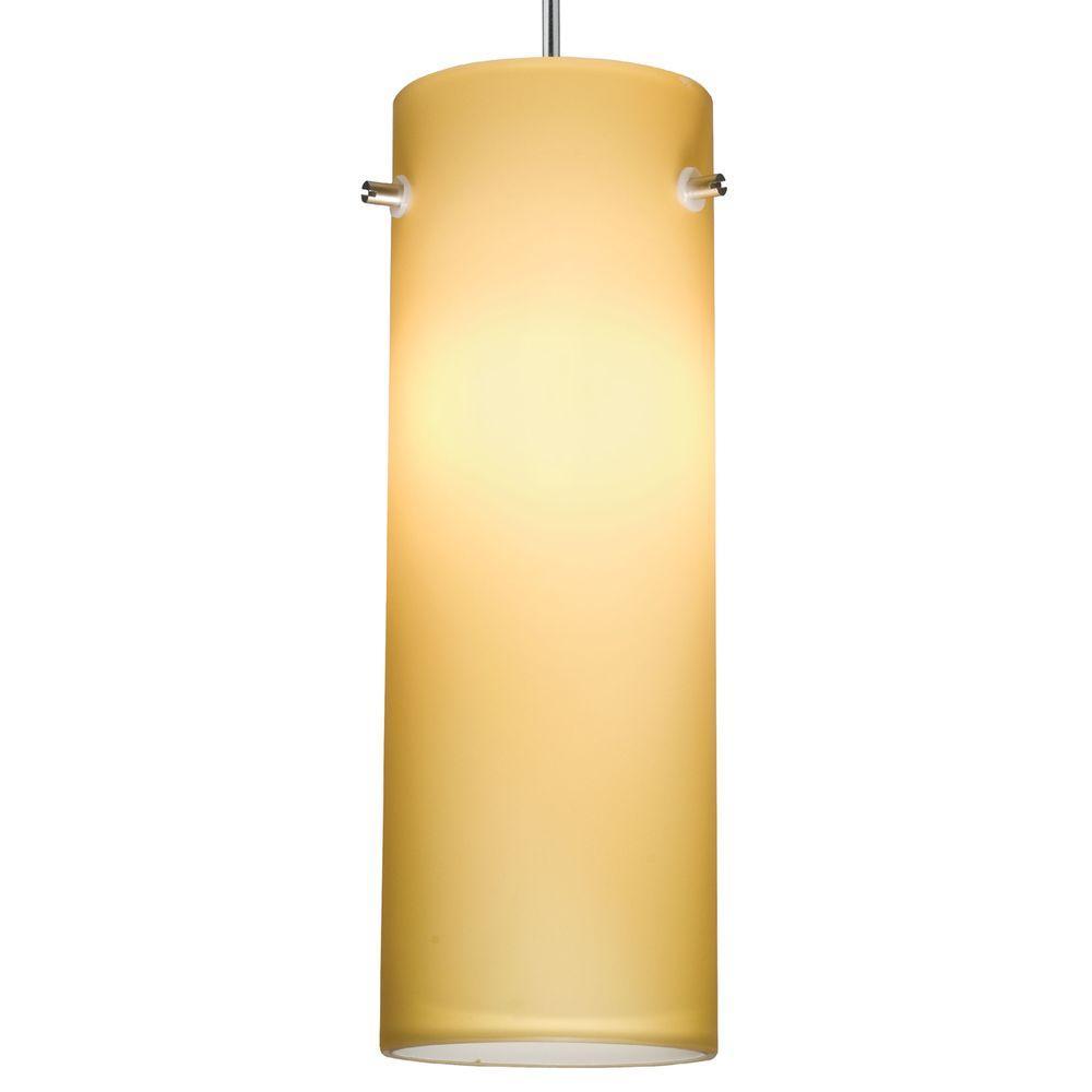 Juno 1-Light Maize LED Cylinder Pendant Kit