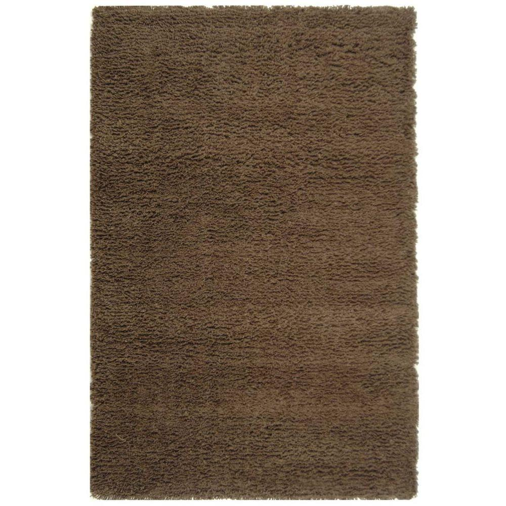 Classic Shag Chocolate 7 ft. 6 in. x 9 ft. 6