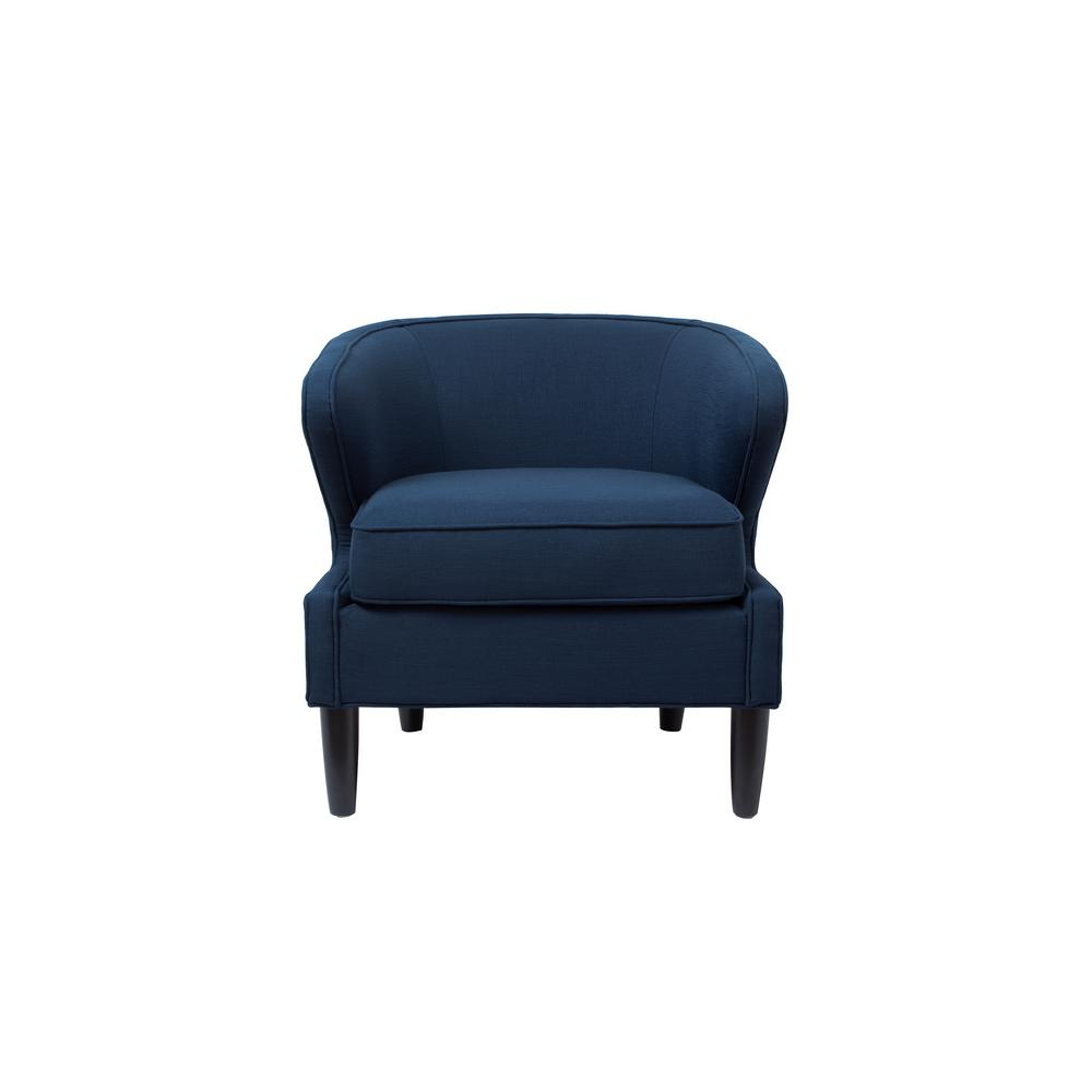 Jennifer Taylor Sophia Midnight Blue Accent Chair 8413 1 878 The