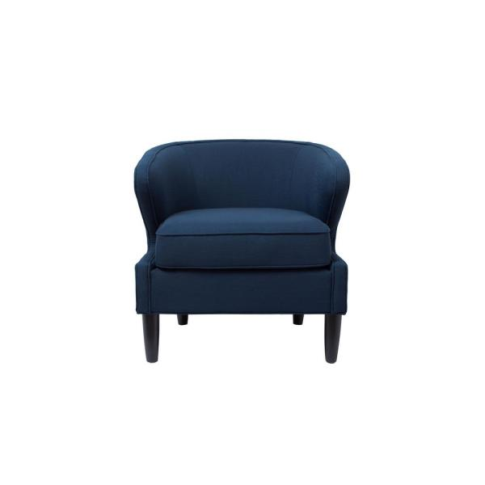 Jennifer Taylor Sophia Midnight Blue Accent Chair 8413-1-878
