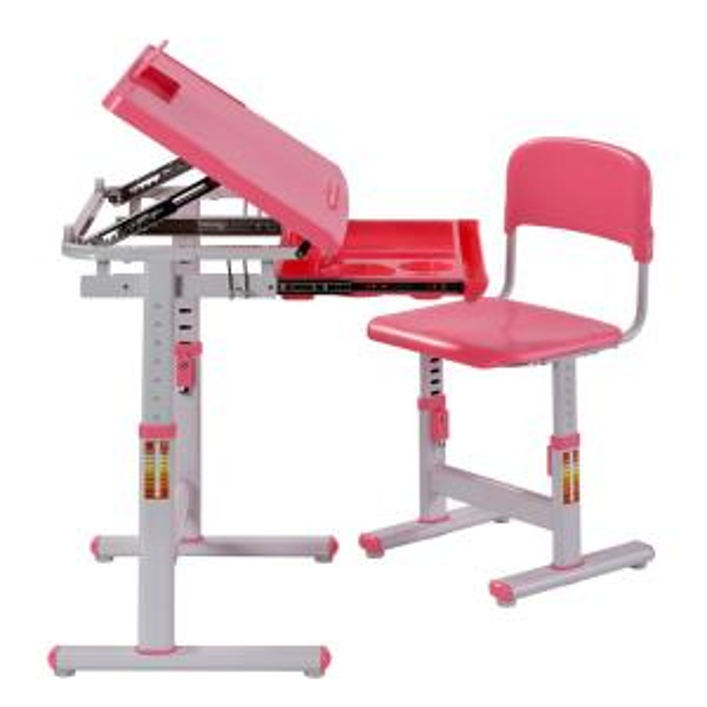 Remarkable Muscle Rack 2 Piece Pink Ergonomic Adjustable Kids Standing Creativecarmelina Interior Chair Design Creativecarmelinacom