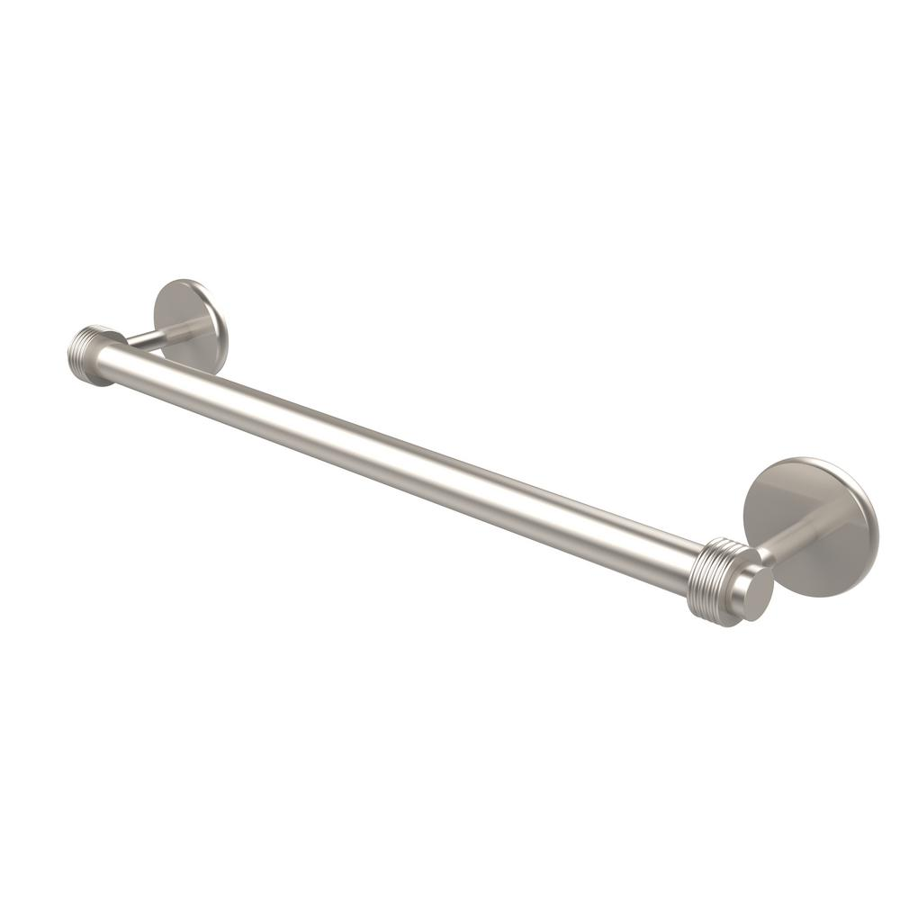 Satellite Orbit Two Collection 30 in. Towel Bar with Groovy Detail