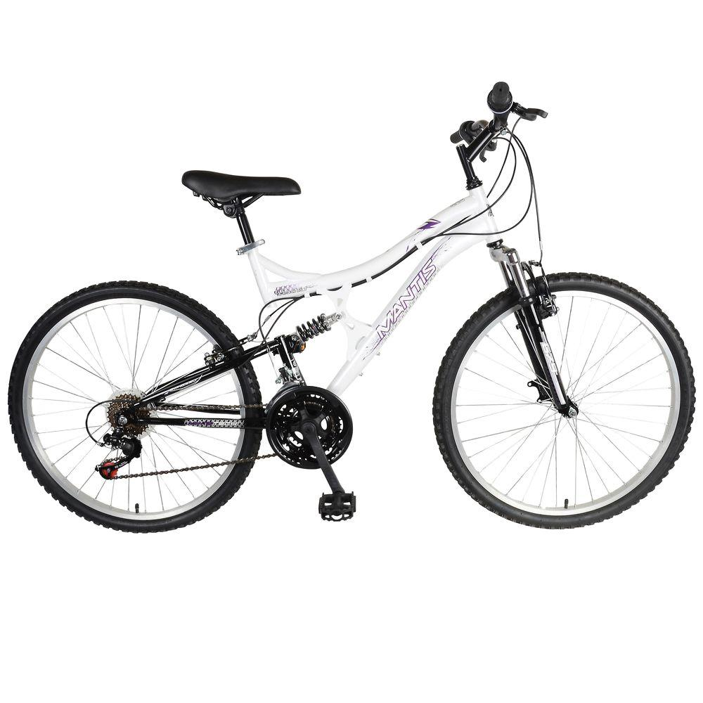 Mantis Orchid Full Suspension Mountain Bike, 26 in. Wheels, 17 in ...