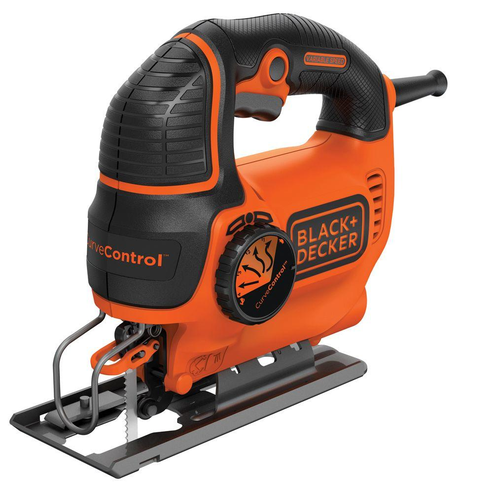 BLACK+DECKER 5 Amp Jig Saw with Curve Control