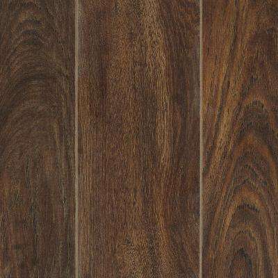 Take Home Sample - Cooperstown Hickory Laminate Flooring - 5 in. x 7 in.