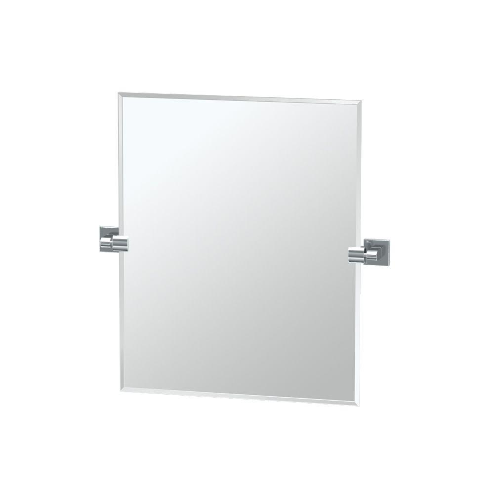 Elevate 24 in. x 24 in. Frameless Single Small Rectangle Mirror