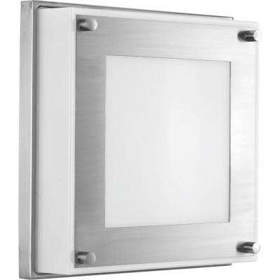 Anson Collection 17 -Watt Stainless Steel Integrated LED Sconce