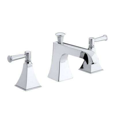 Memoirs 2-Handle Bath or Deck-Mount High-Flow Bath Faucet Trim in Polished Chrome (Valve Not Included)