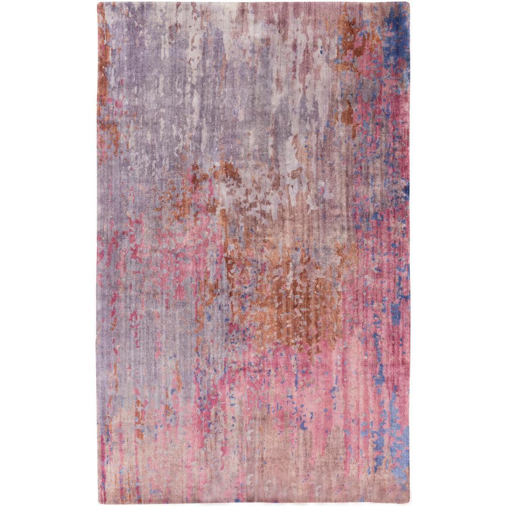 Dark Purple Rugs: Artistic Weavers Toki Dark Purple 5 Ft. X 8 Ft. Indoor