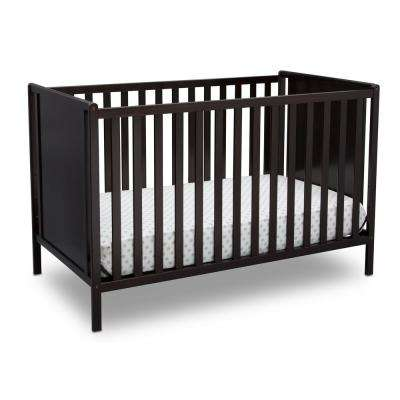 Heartland Classic 4-in-1 Dark Chocolate Convertible Crib