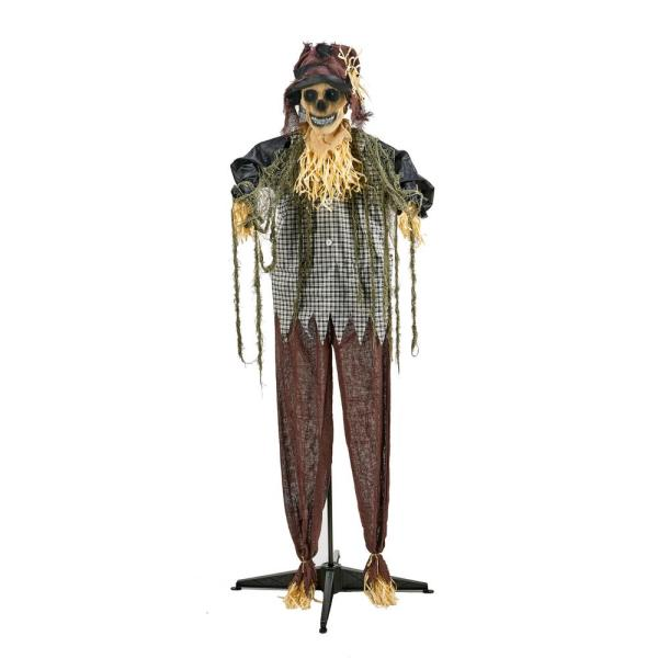 60 in. Standing Animated Scarecrow