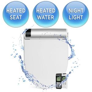 biobidet bliss electric bidet seat for elongated toilets in the home depot