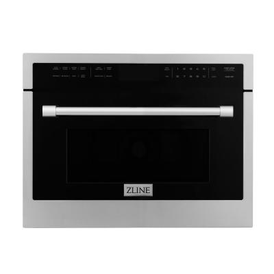 24 in. 1.6 cu. ft. Built-in Microwave Oven in Stainless Steel