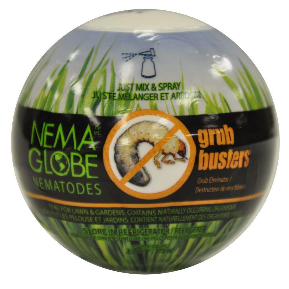 Nema-globe 3000 sq. ft. Coverage Grub Busters Natural Grub Eliminator