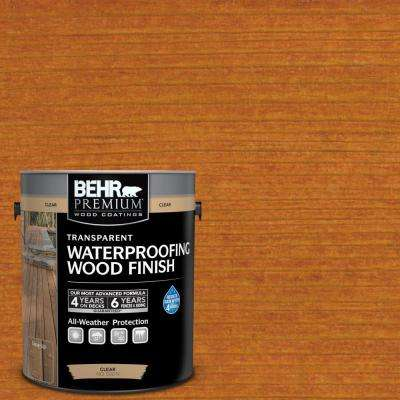 1 gal. #T-172 Natural Sequoia Transparent Waterproofing Exterior Wood Finish