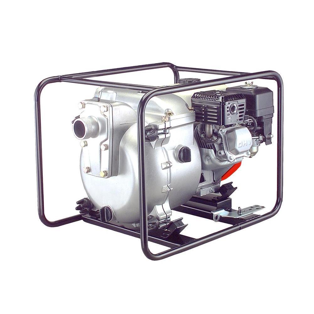 2 in. 4.8-HP Honda Engine Water/Trash Pump