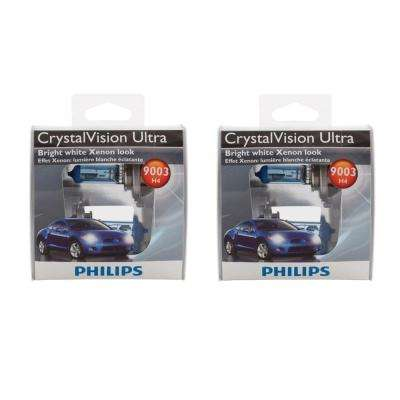 9003 Headlight CrystalVision Ultra Light Bulb (2-Pack)