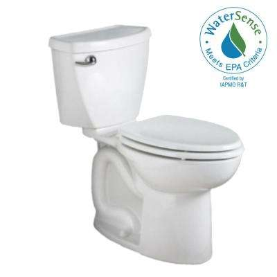 Cadet 3 Powerwash 10 in. Rough-In 2-Piece 1.28 GPF Single Flush High-Efficiency Elongated Toilet in White