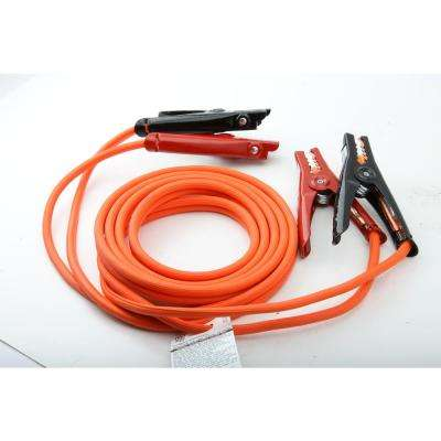 16 ft. 6-Gauge 350 Amp Orange Booster Cables