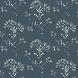 Magnolia Home By Joanna Gaines 56 Sq Ft Wildflower Wallpaper Me1515