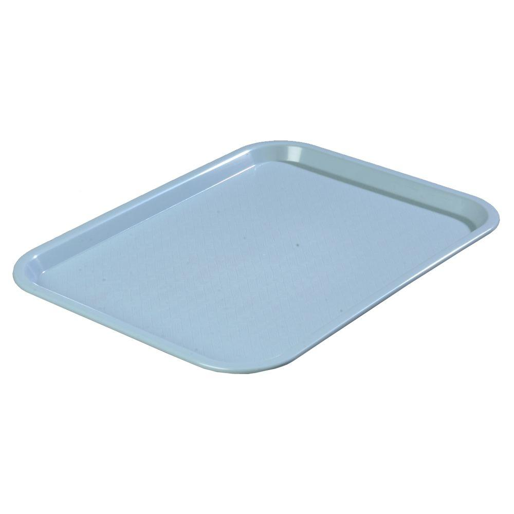 12 in. x 16 in. Polypropylene Serving/Food Court Tray in Light
