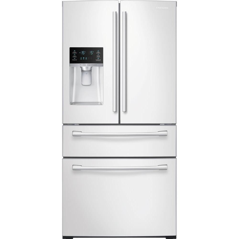 Samsung French Door Refrigerator Temperature Settings: Samsung 28.15 Cu. Ft. 4-Door French Door Refrigerator In