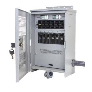 Reliance Controls 7,500-Watt 30 Amp 6-Circuit Outdoor Transfer Switch by Reliance Controls