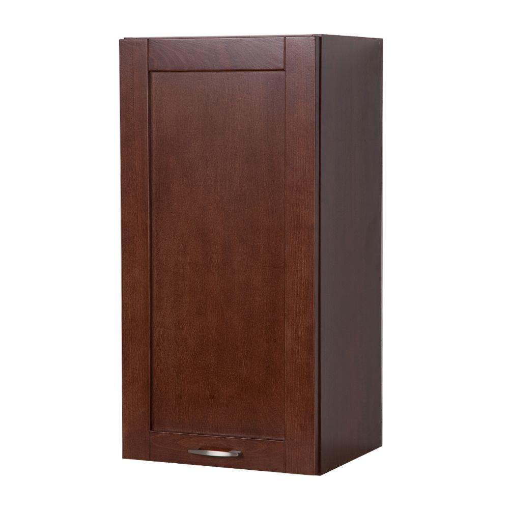 Ready Kitchen 15 in. Wall Cabinet in Auburn-DISCONTINUED
