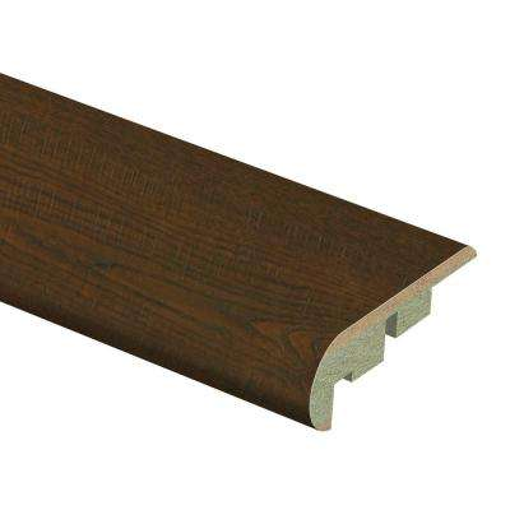 Auburn Scraped Oak 3/4 in. Thick x 2-1/8 in. Wide x 94 in. Length Laminate Stair Nose Molding