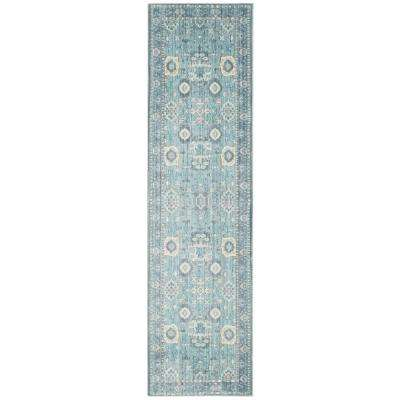 Valencia Alpine/Multi 2 ft. x 10 ft. Runner Rug