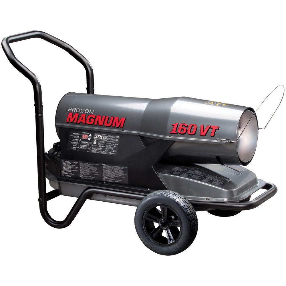 Procom 110 000 To 160 000 Btu Portable Kerosene Heater
