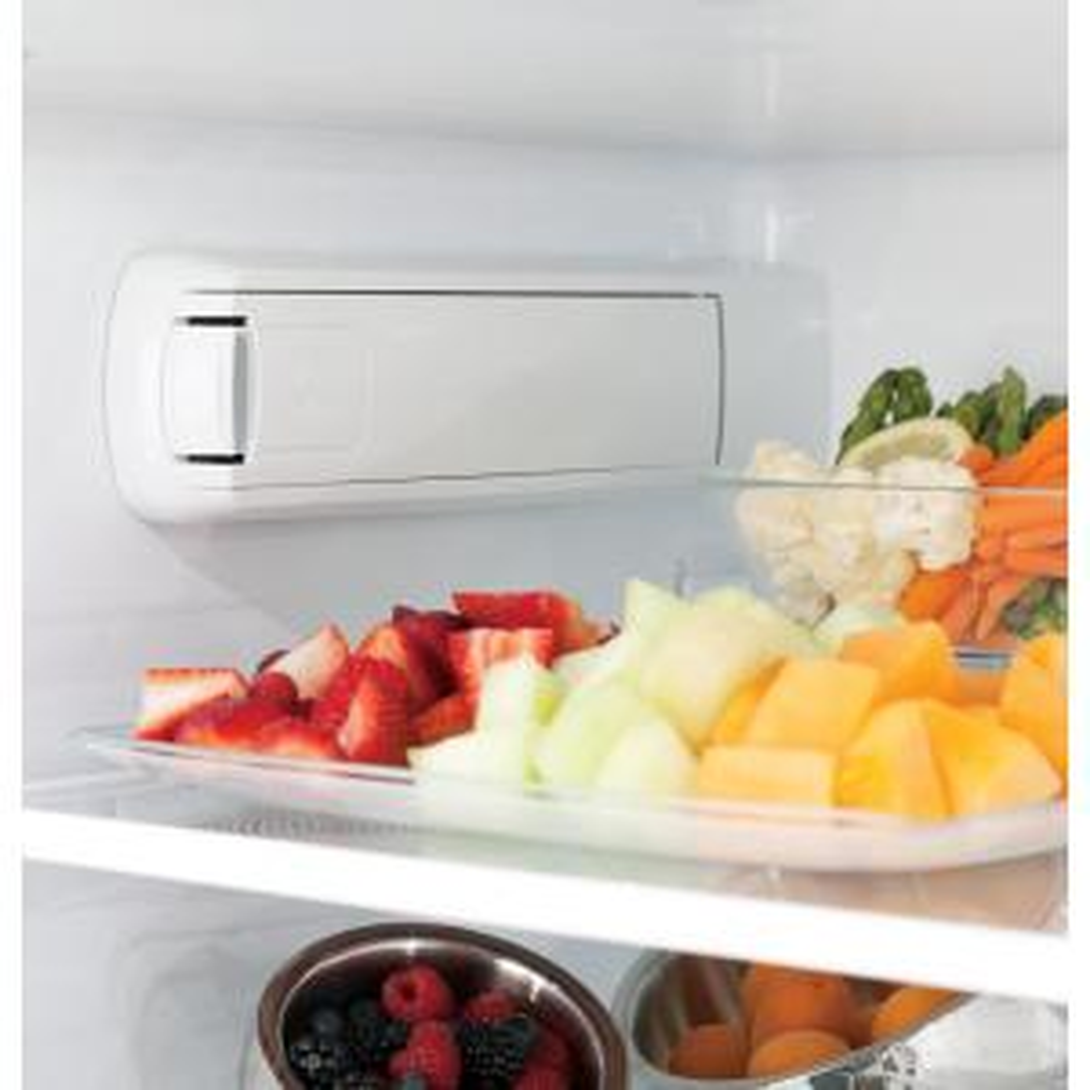 GE 25 8 cu  ft  French Door Refrigerator in Stainless Steel